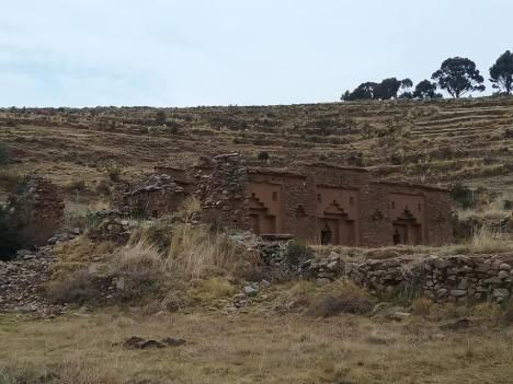 Incan ruins of Inac Uyu
